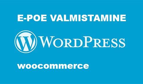 Kodulehe ja e-poe loomine WordPressiga